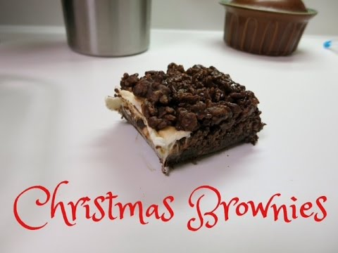 CHRISTMAS BROWNIES!