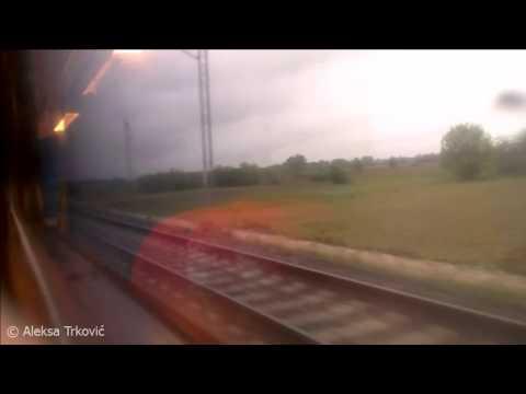 Belgrade - Niš, (Serbia) Railway, 100km/h Max Speed / (April 2016)