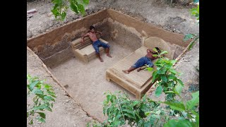 Tine tv : Building the more creative underground bed room