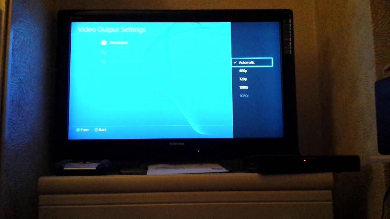 PlayStation 4 no signal fix - YouTube