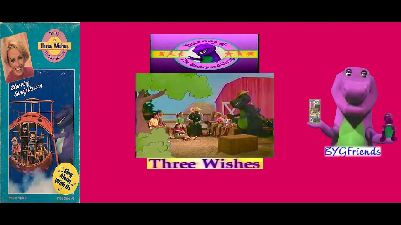 Barney & The Backyard Gang Episode 2: Three Wishes