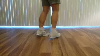 Andy & Hope Beginner Clogging Practice Routine Lesson 3 Part 2 Rocking Chairs and Unclogs
