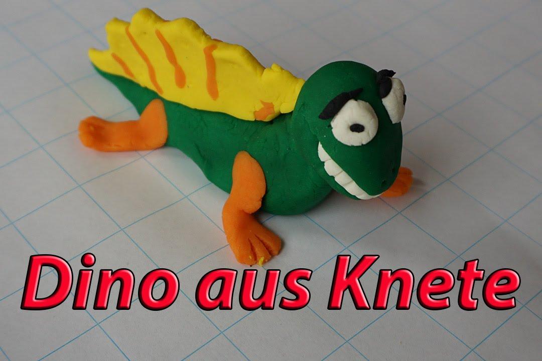 Dino Zum Selber Basteln Aus Knete Youtube