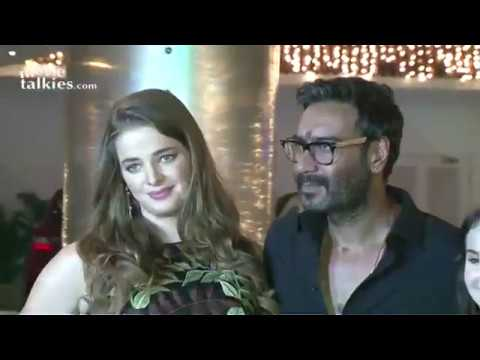 Shivaay Movie Screening - Ajay Devgn, Sayyeshaa, Erika Kaar, Abigail Eames