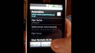 COMO FORMATEAR O RESETEAR CELULAR LG-E400g