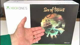 ANY GOOD? Sea Of Thieves XBOX One S 1TB Console UNBOXING