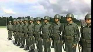 中華民國國軍 基本教練 02 隊形 03 整齊報數 04 行進 thumbnail