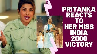 Priyanka Chopra Reacts To Her Femina MISS INDIA 👑 VICTORY!