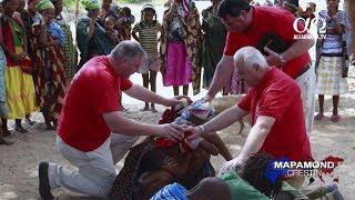 Tinerii romani merg in misiune la bosimanii din Namibia, Africa