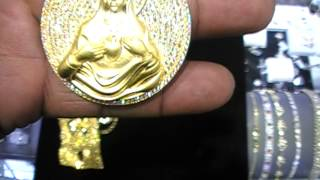 VIRGIN MARY REAL GOLD MEDALLION. thefreshconnect.com