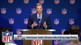 Commissioner Roger Goodell Explains Why the NFL Changed The Celebration Rules | NFL