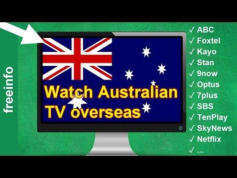 Watch Australian TV Channels Outside Australia Overseas (2020)