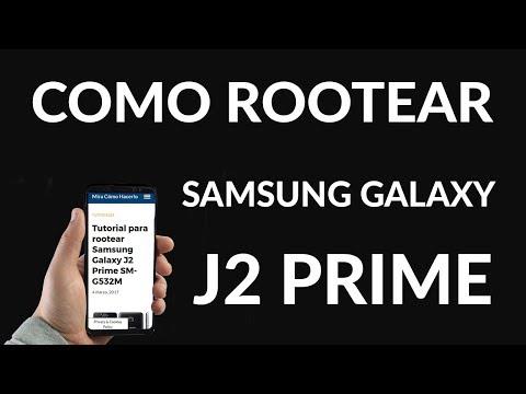 ¿Cómo Rootear Samsung Galaxy J2 Prime SM-G532M?