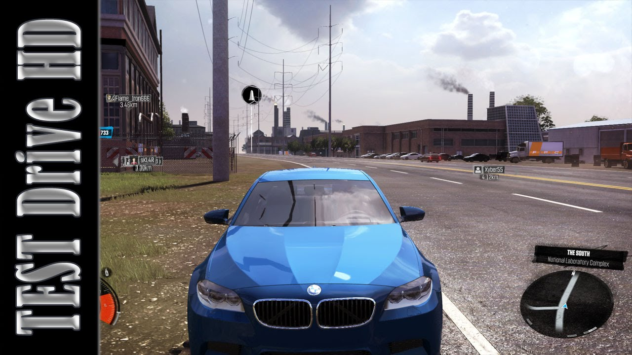 BMW M5  Perf Spec  2011  The Crew  Test Drive Gameplay PC HD