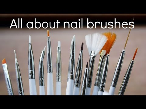 How to pick, clean and store acrylic, gel and nail art brushes