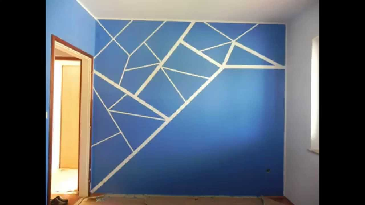 How to paint your room very cool - YouTube