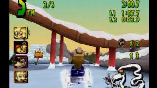 Walt Disney World Quest: Magical Racing Tour (PS1) Gameplay