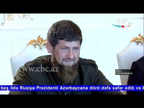Президент Азербайджана принял сегодня делегацию Чеченской Республики во главе с Рамзаном Кадыровым