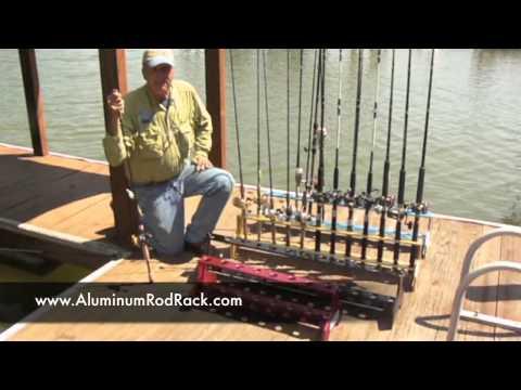 Capt. Gus for Aluminum Rod Rack