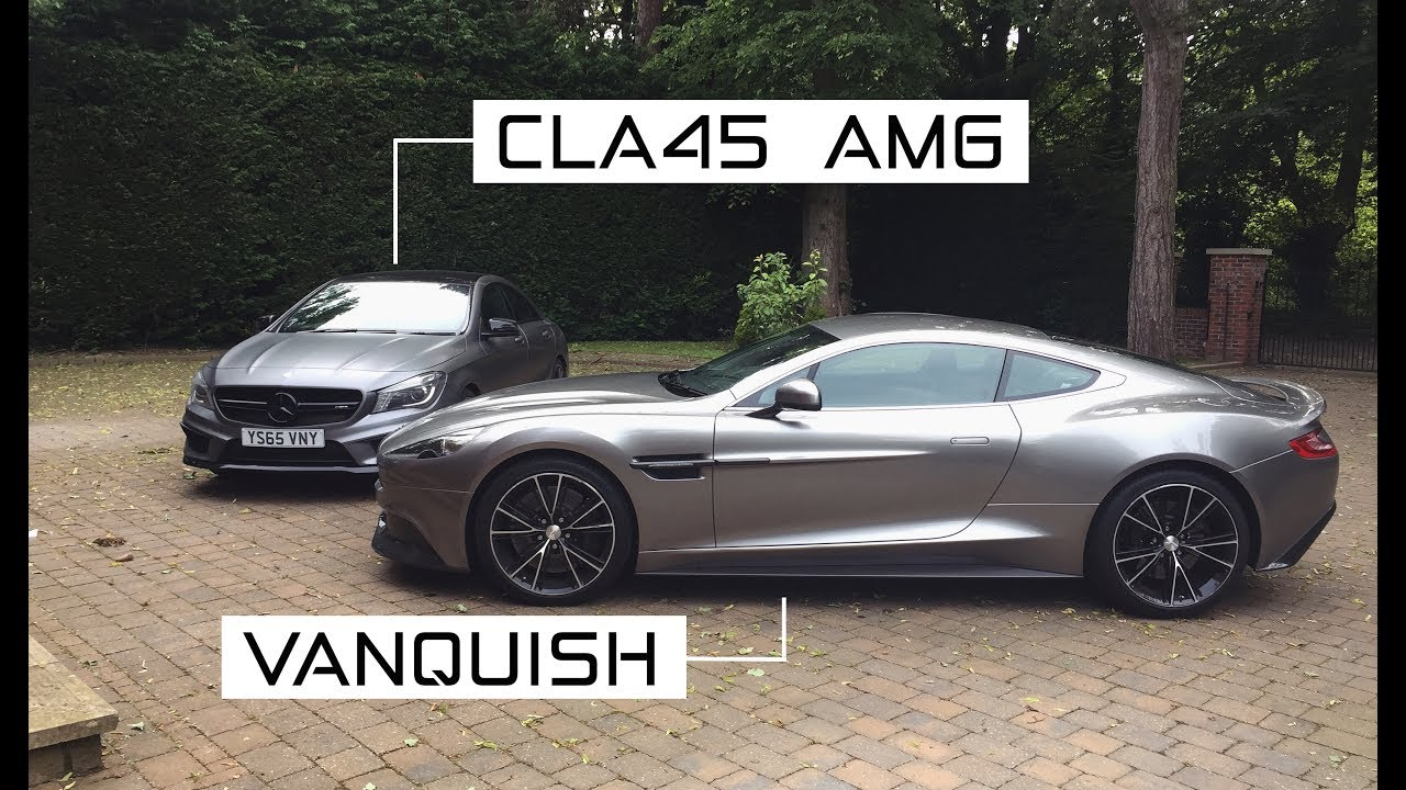 Supercar Vs Sports Car My Amg Aston Martin Vanquish