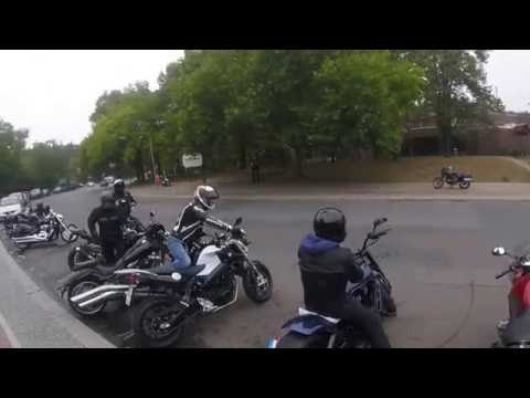 Berlin motorcycle trip