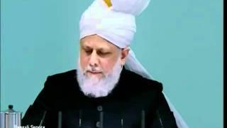 Prayers for Muslim Ummah & Khilafat Islam Ahmadiyya 25 02 2011 anglais clip4