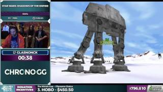 Star Wars: Shadows of the Empire by glasnonck in 0:52:05 - AGDQ2017 - Part 148