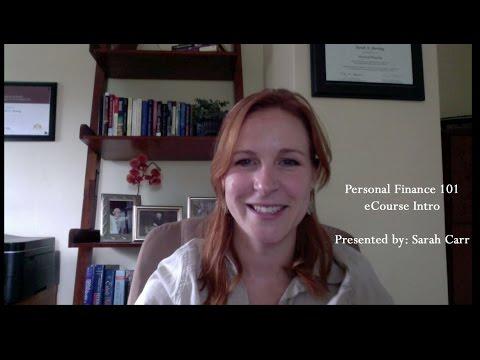 Personal Finance 101 eCourse Intro