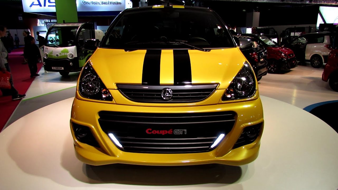 2013 aixam coupe gti exterior walkaround 2012 paris auto show youtube. Black Bedroom Furniture Sets. Home Design Ideas