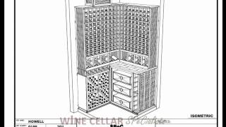 Custom Wine Cellars Dallas Texas -- Howell