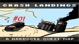 Machettie let´s play Minecraft crash landing  #01 - Der Wüstenplanet [FTB] [Deutsch]