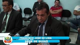 Pronunciamento Dede Quinó 07 10 2016