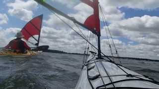 Kayak Sailing with Falcon Sails  - Video 2 Thumbnail