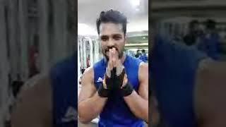 Khesari Lal LIVE जिम से लाइव आये खेसारी कहा & 39 वीडियो बनाकर कर देगी वायरल & 39 Bindaas Bhojpuriya