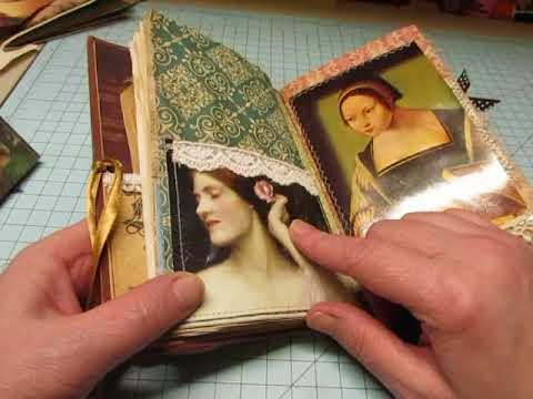 """""""Renaissance"""" Junk Journal- Custom Order"""