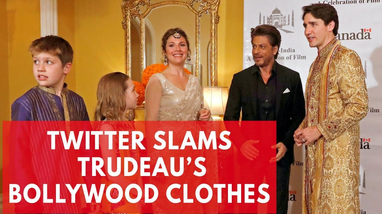 dff5c3194e Twitter mocks Justin Trudeau's Bollywood outfits during trip to India