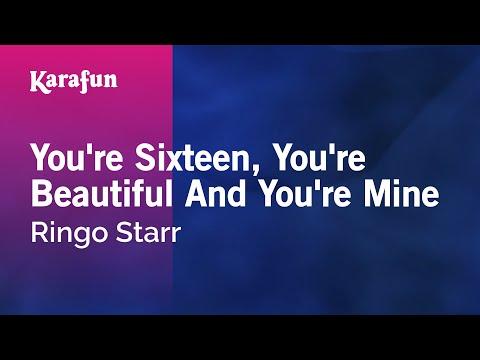 Karaoke You're Sixteen, You're Beautiful And You're Mine - Ringo Starr *