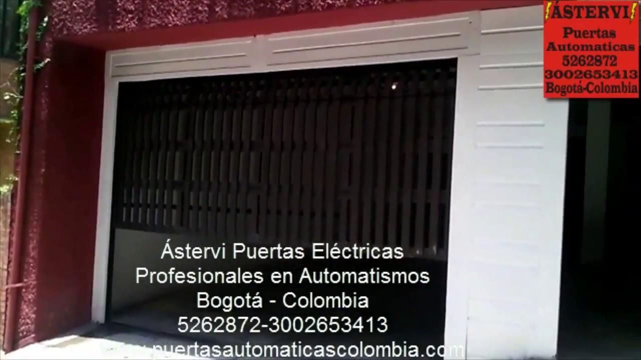 Puertas el ctricas de cochera youtube - Puertas para cocheras ...