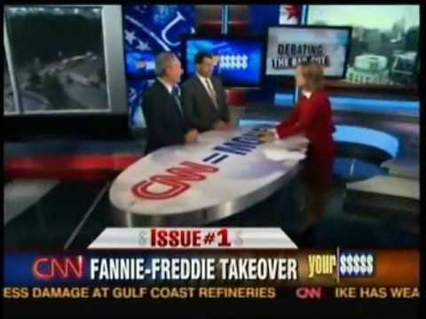 Peter Schiff Vs. Chris Dodd - Fannie and Freddie