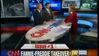 Peter Schiff Vs. Chris Dodd - Fannie and Freddie