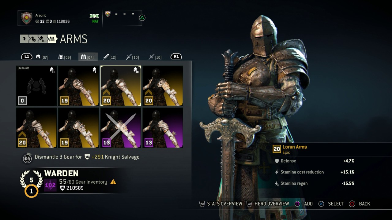 how to get rare armour in for honor
