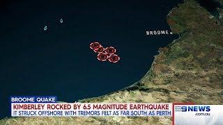 Earthquake Chaos | 9 News Perth