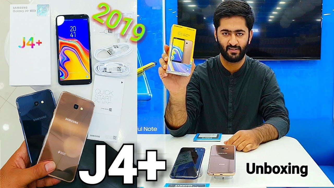 Samsung Galaxy J4 Plus Unboxing & Review Hindi | Urdu Pakistan