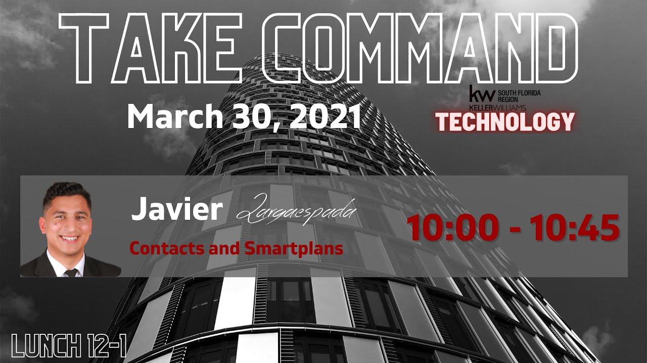 Take Command: Contacts and Smart Plans