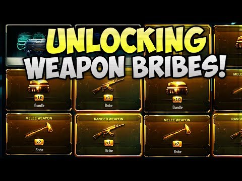 UNLOCKING ALL WEAPONS!! - BO3 WEAPON BRIBE & GUN CONTRACTS (BLACK OPS 3)