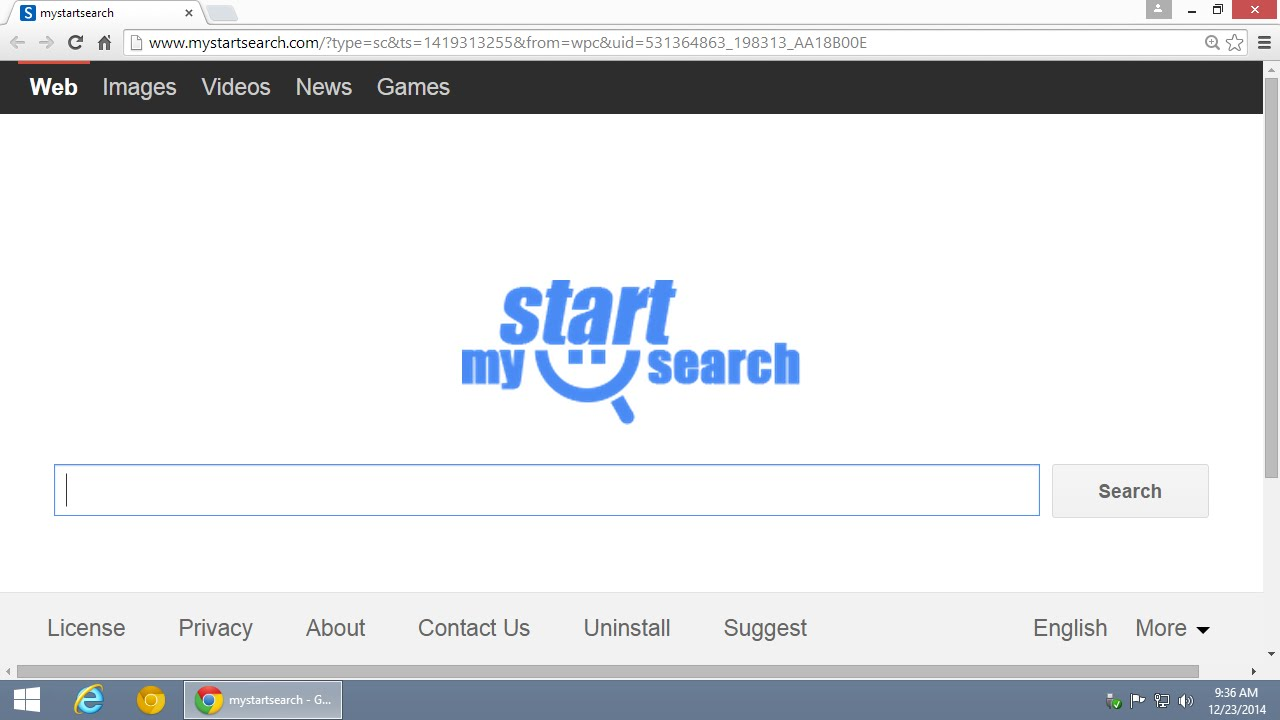 How to remove mystartsearch.com homepage redirect ...