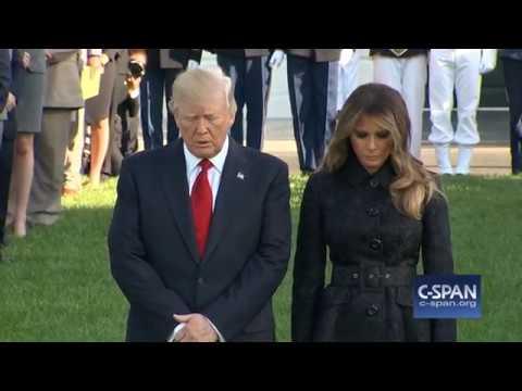 White House Moment of Silence on September 11, 2017 (C-SPAN)