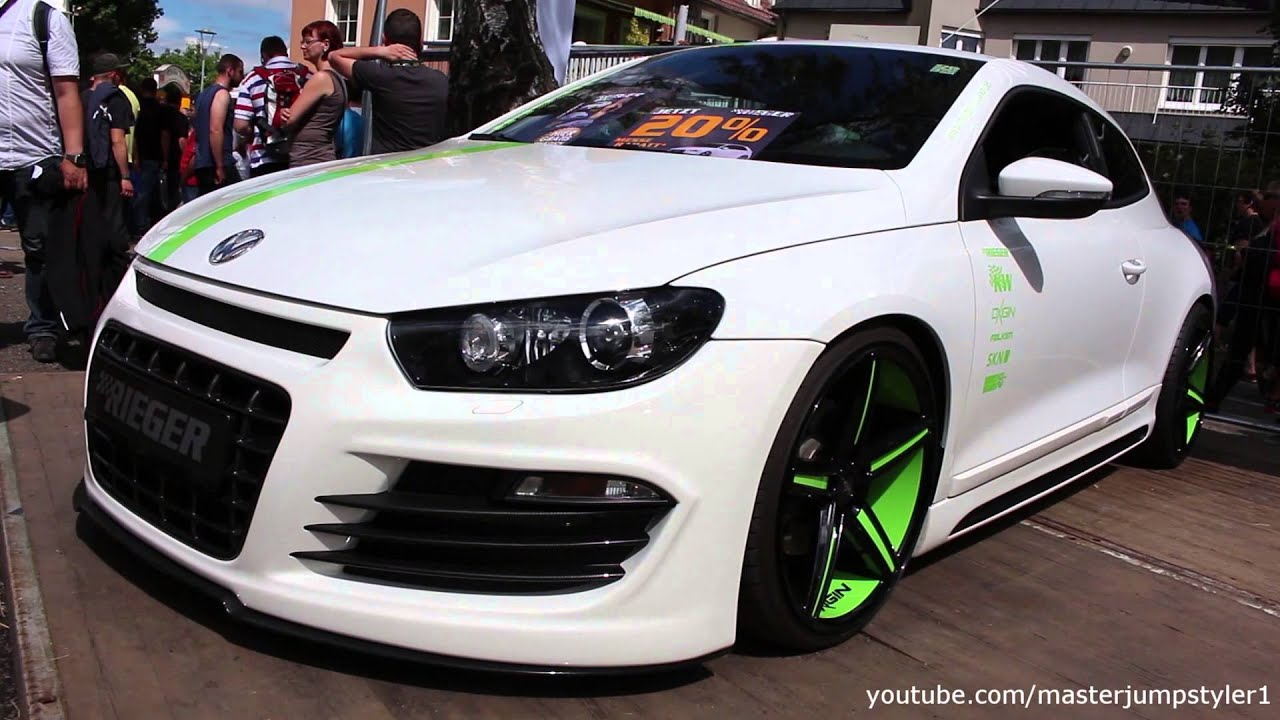 vw scirocco 2 0 tsi by rieger youtube. Black Bedroom Furniture Sets. Home Design Ideas