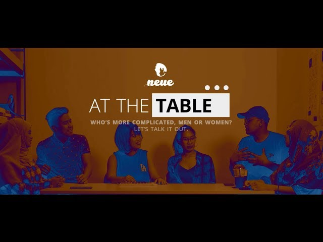 At The Table: Who's more complicated, men or women?