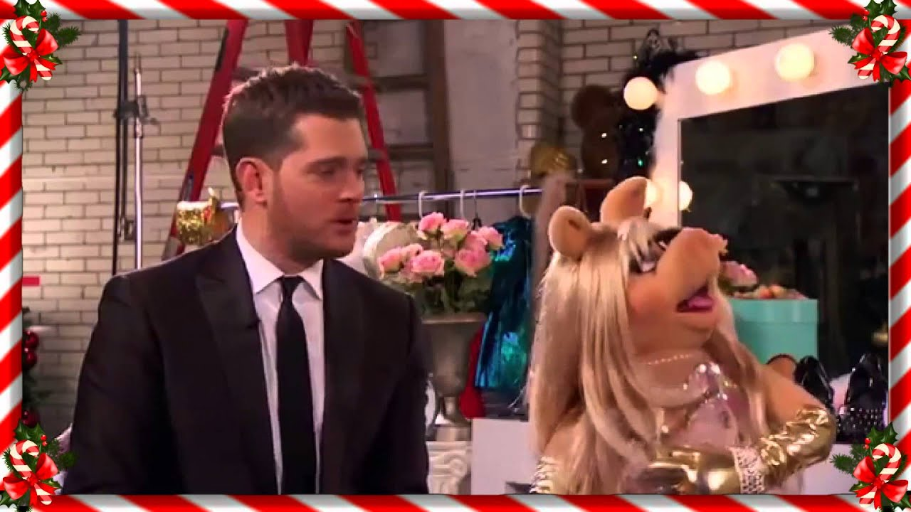 Michael Buble And Miss Piggy ☆ Baby It S Cold Outside